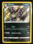 Pokemon SV082 Shiny Thievul Shining Fates Ultra Rare a