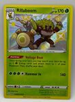 Pokémon Shiny Rillaboom Shining Fates SV006/122