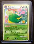 Lightly Played Rare Bellossom Pokemon TCG Card 1/90 Undaunted 2010 HGSS LP Case