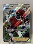 Ball Guy 065/072 Pokémon Card Shining Fates Full Art Trainer Ultra Rare Holo
