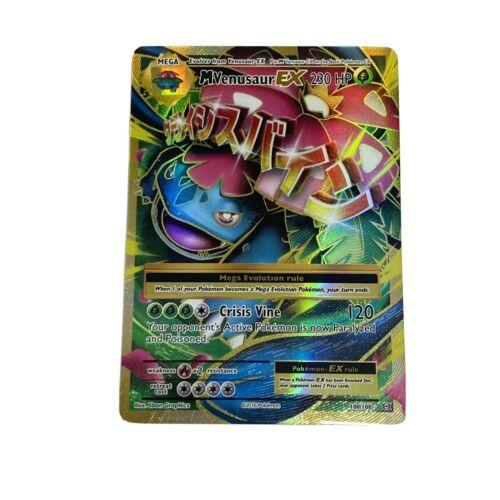 XY Evolutions NM Ultra Rare 100//108 Full Art Mega Venusaur EX
