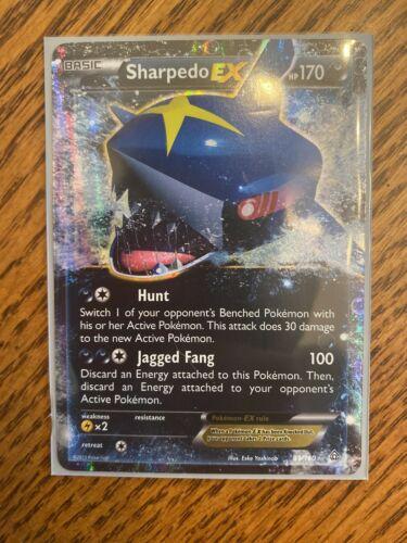 Pokemon Sharpedo-EX - 91/160 - Ultra Rare XY Primal Clash NM/M!