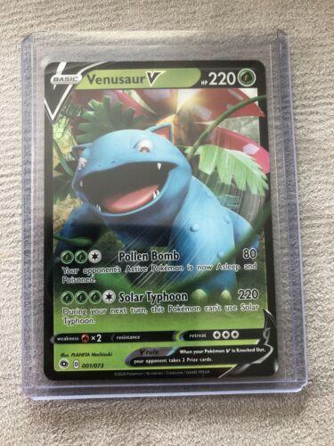 Pokemon Card Venusaur V 001//073 Champion/'s Path NM//M