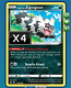 4X Galarian Zigzagoon 035/073 Champion's Path Pokemon Online Digital Card